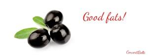 olive - good fats