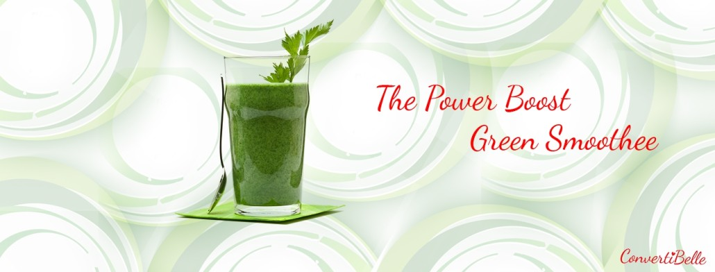 Power boost green smoothee