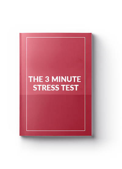 the 3 minute stress test
