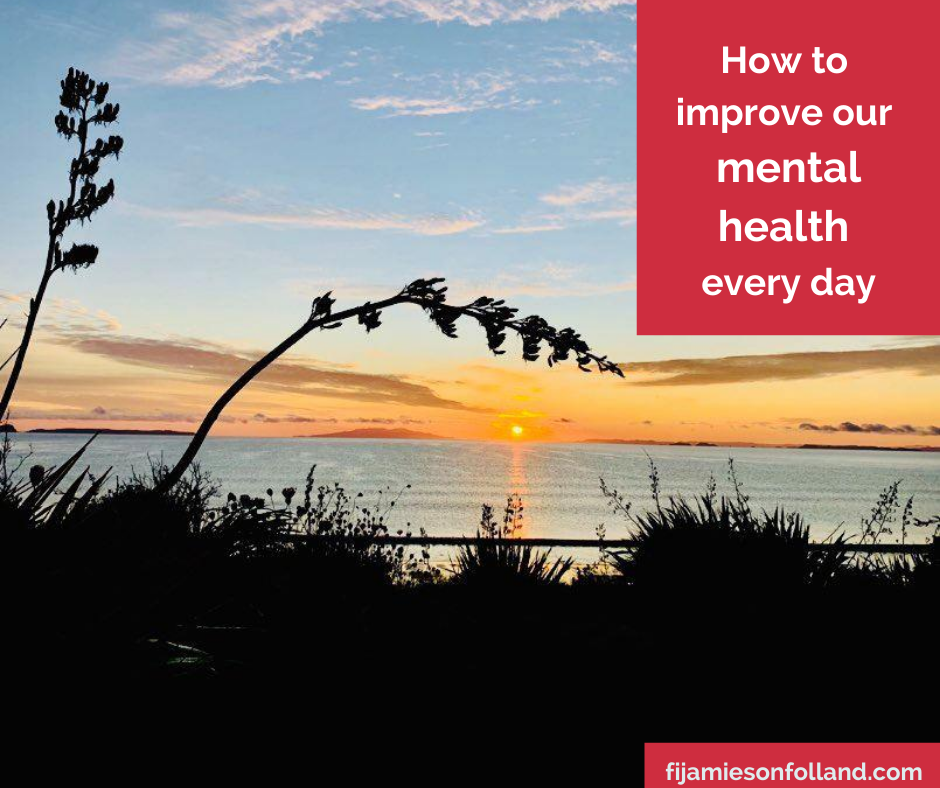 How to improve our mental health every day