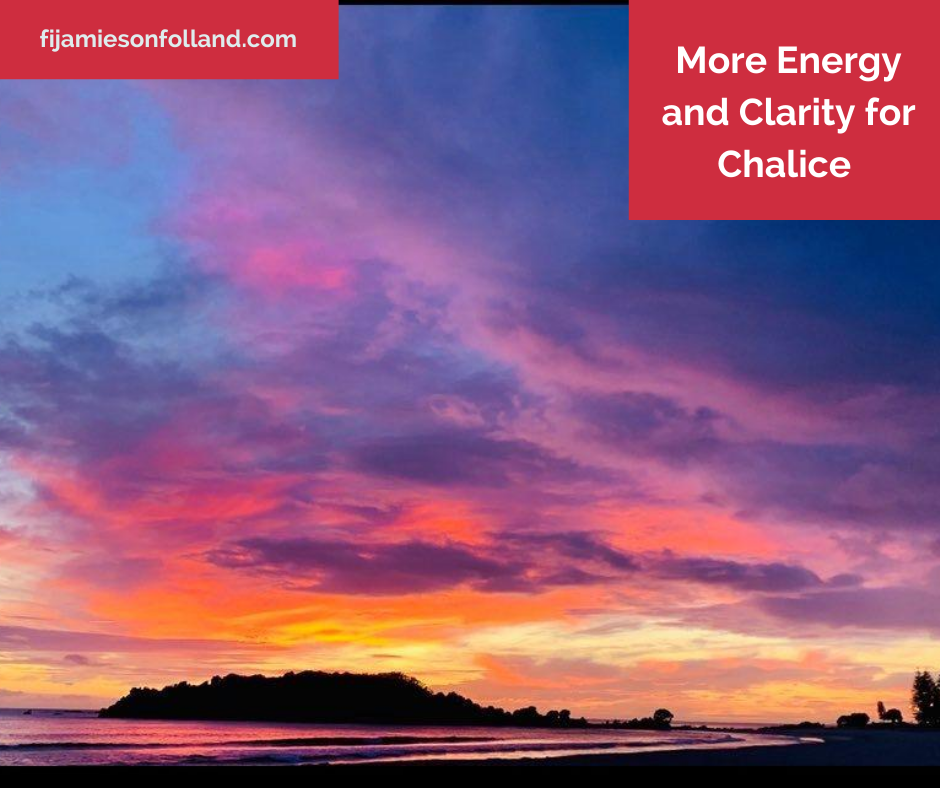 More Energy and Clarity for Chalice