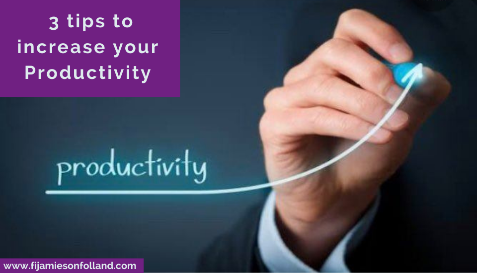 3 tips to increase your Productivity