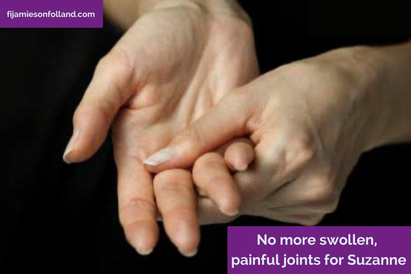 No more swollen, painful joints for Suzanne