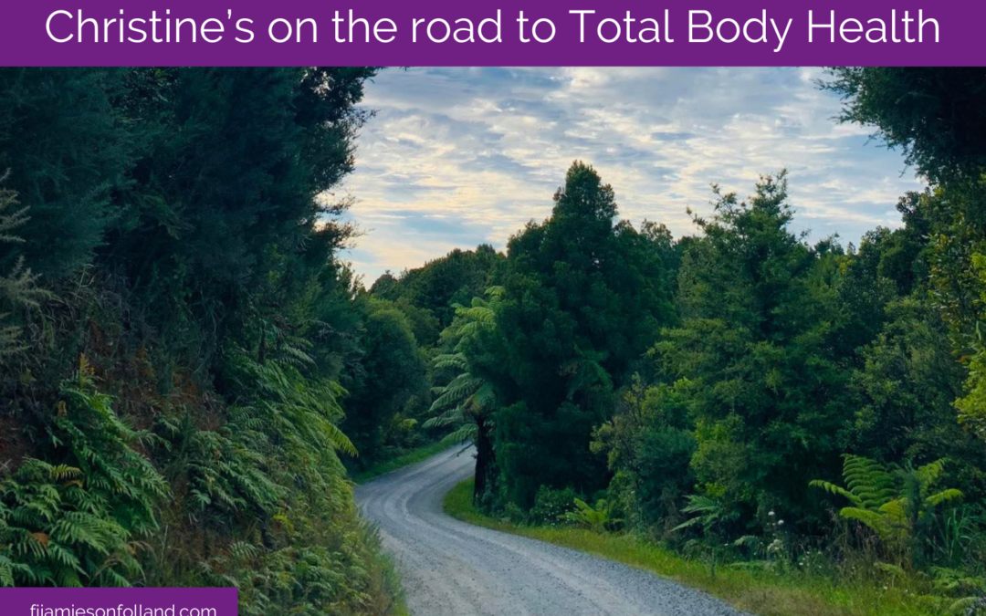Christine's on the road to Total Body Health