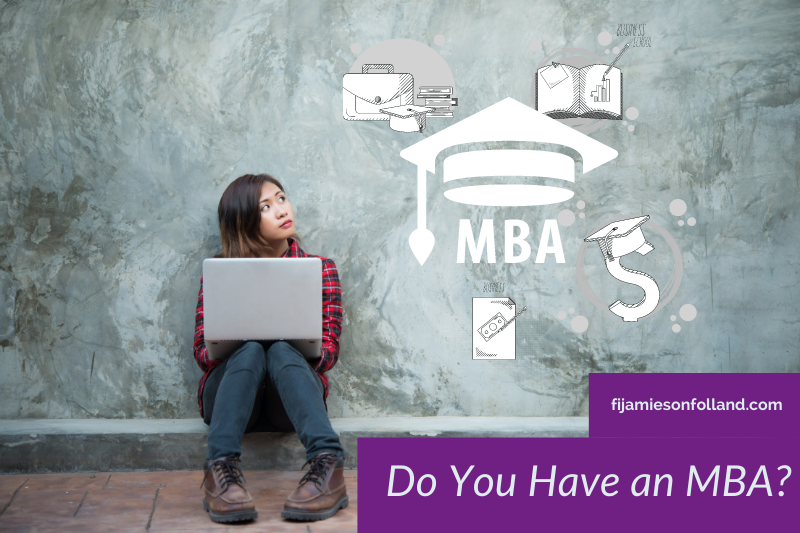 Do You Have an MBA?
